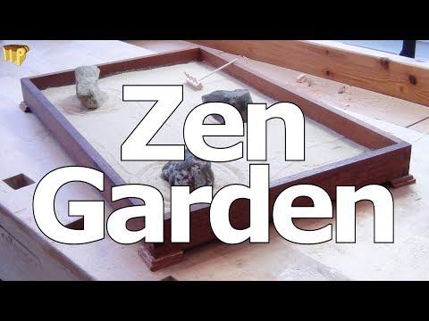 Miniature Japanese Rock Garden / Zen Garden
