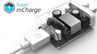 Meizu Super mCharge - зарядка 3000 мАч от 0 до 100% за 20 минут. Реально?