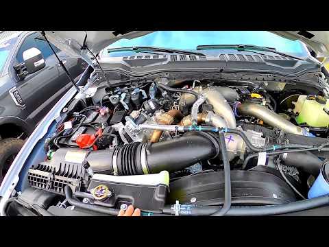 Super Simple | 2020 Super Duty 7.3L Gas V8 Vs 6.7L Powerstroke Diesel | Underhood Inspection