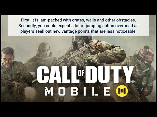 Call Of Duty Mobile Season 8 Will Have A New Map Read To Know What All New Will Be There In The Map