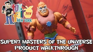 Masters of the Universe Super7 Product Walkthrough at New York Toy Fair 2018