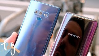 Samsung Galaxy Note 9 vs Oppo Find X