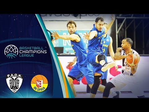 ce0a70a8c38 PAOK v Opava - Full Game - Basketball Champions League 2018 - Basketball  Champions League 2018-19