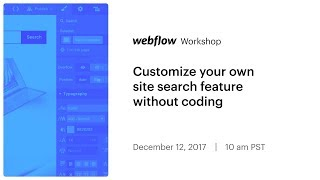 Customize your own site search feature without coding