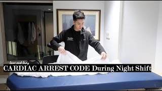 Hospital Night Shift | Cardiac Arrest Code | A Day in Life of a Doctor