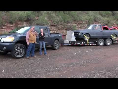 Nissan Titan 2015 review towing trailers, see the difference before 2016 XD