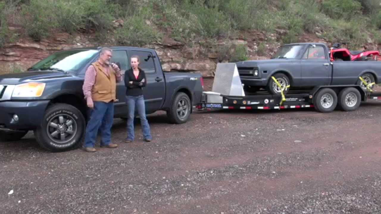 Nissan Titan 2015 Review Towing Trailers See The