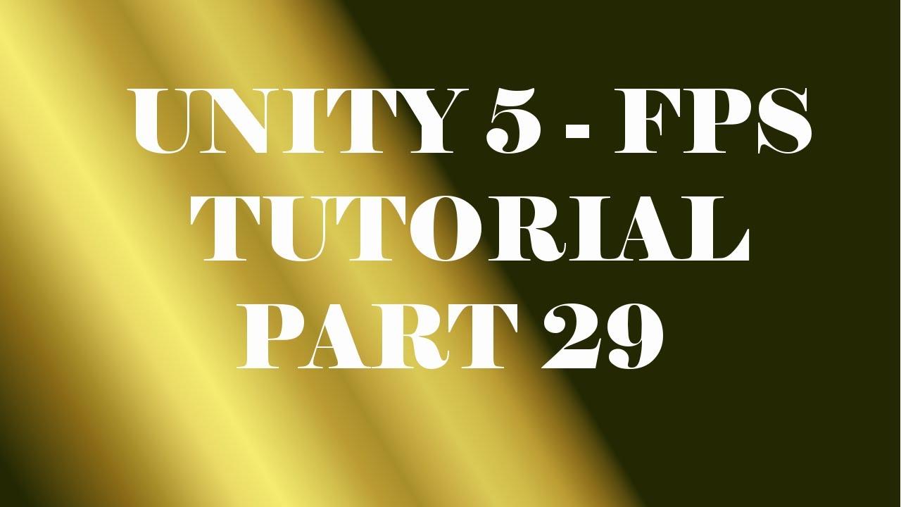 Unity 5 - FPS Tutorial - Part 29 (Final) - Damage Screen