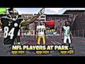 NFL Players Retire To Play Basketball At The Park--NBA 2K18