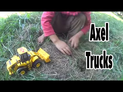 Recycling Truck, Front Loader, and Skid-Steer Recycle Hay