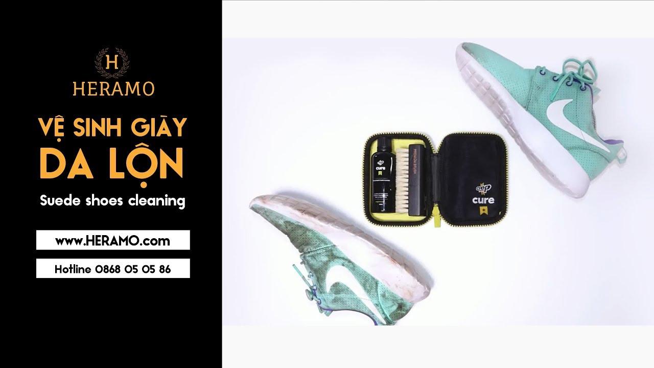 Cách vệ sinh giày Nike | đúng chuẩn HERAMO