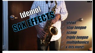 alto sax: fun blues licks & effects