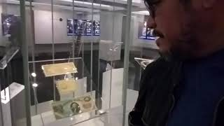 100,000 dollar bill at the Smithsonian Institution