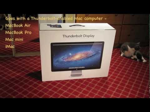 apple-thunderbolt-display---with-cats!---(unboxing-and-setup)-✅