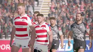 Rugby League Live 4 (PS4) Leigh Centurions v Catalans Dragons (2017 Million Pound Game)