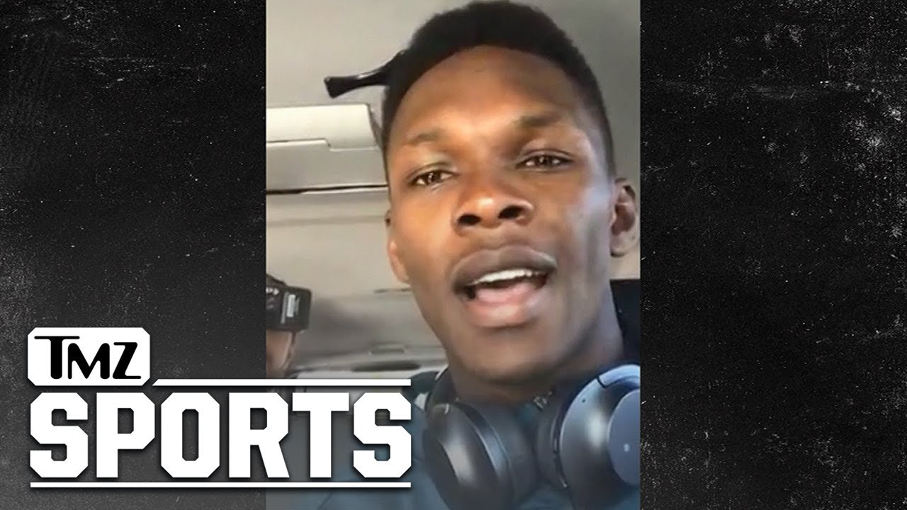 Israel Adesanya to Jon Jones, 'I Already Killed One G.O.A.T.' | TMZ Sports