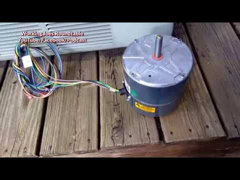 ecm condenser fan motor replacement
