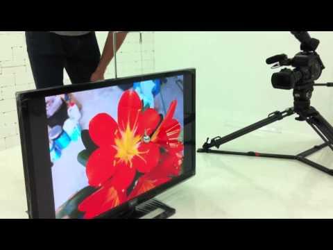 LG electronics TV screen durability test