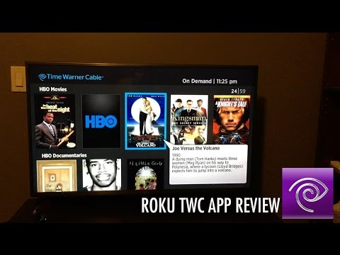 TWC Roku App Review (Time Warner Cable)