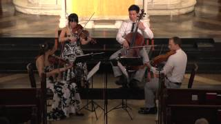 "Attacca Quartet plays Haydn Op. 33 no. 3 ""The Bird"" -- Fourth Movement"