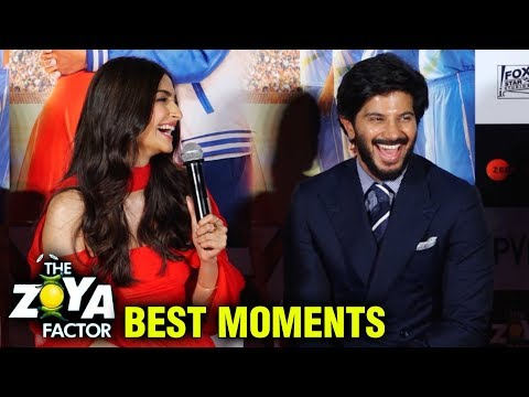 Sonam Kapoor And Dulquer Salmaan BEST MOMENTS From The Zoya Factor Trailer Launch Mp3