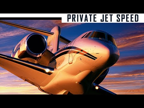 The SECRET to private jet SPEED! Speed is not what you thoug
