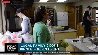 Freeport Family of Eleven Wants To Cook You or Your Family Dinner