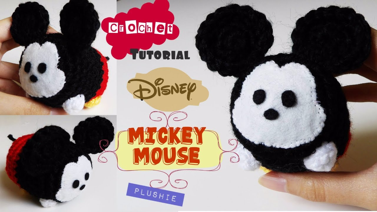Tutorial Amigurumi Mickey Mouse : Amigurumi for beginners crochet mickey mouse plushie youtube