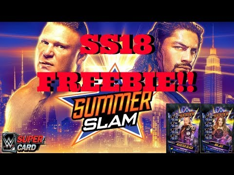 SS18 FREEBIE!!! NEW UPDATE!!  |   WWE Supercard #105 (Season 4)