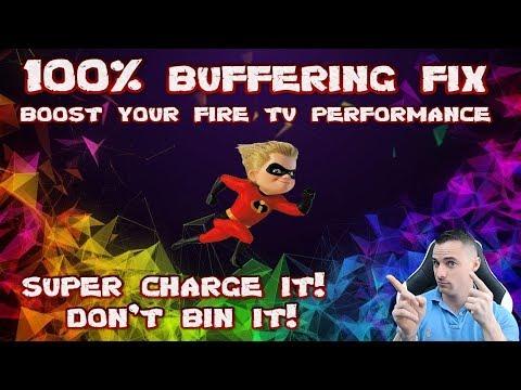 Buffering FIX - Super Speed up you fire TV stick