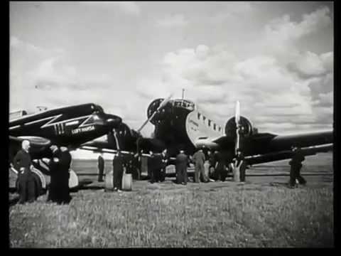 F.P.1 wird Wirklichkeit - Briefe fliegen über den Ozean (1935)
