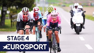 Tour de Romandie 2019 | Stage 4 Highlights | Cycling | Eurosport