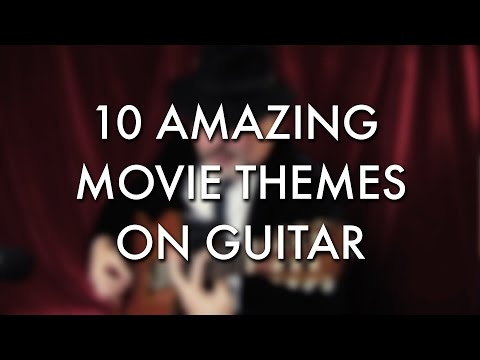 10 AMAZING movie themes on guitar - Igor Presnyakov
