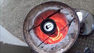 Homemade electric forge (melting aluminum)