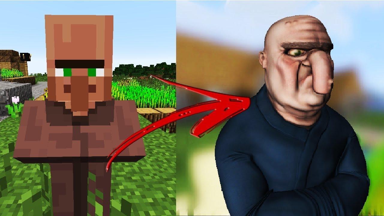 Những Sinh Vật Trong Minecraft Ngoài Đời Thật Trông Như Thế Nào ?