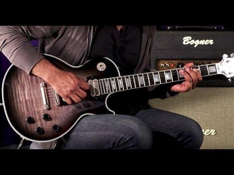 Gibson Custom Shop Vivian Campbell Les Paul Custom  •  SN: VC022