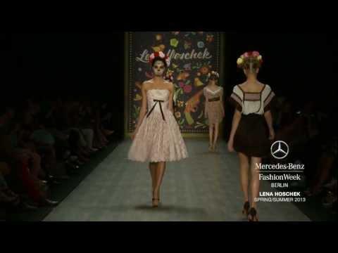 LENA HOSCHEK Mercedes Benz Fashion Week Berlin Spring/Summer 2013