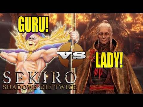 QUICKLY KILL LADY BUTTERFLY! Sekiro Guru NG+ On Hard Mode! (#4)