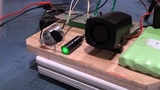 Alarma laser casera | Experimentos Caseros