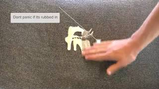 How to clean Upholstery -  Salad Dressing | Revolution Fabrics