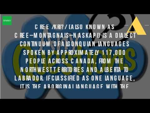 What Is The Language Of Cree?