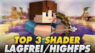TOP 3 SHADER! - LAGFREI & VIEL FPS! (1.8/1.9) - Minecraft | LetsPhil
