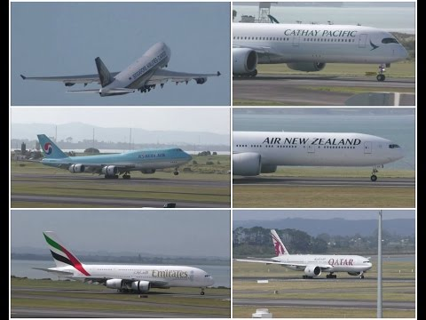 A DAY OF HEAVY PLANESPOTTING @ Auckland International Airport