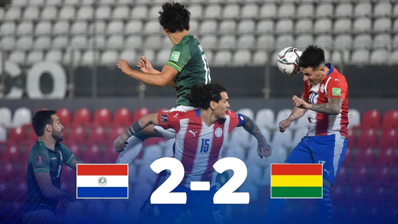Парагвай  2-2  Боливия видео