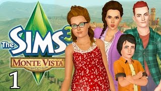 Let's Play The Sims 3 in Monte Vista - Ep. 1 - Welcome!