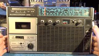 Nordmende Globecorder 686 - oprava radiomagnetofonu 1/2