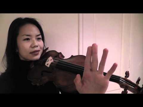 Free Violin Tutorials - Ning Kam - Tone Production...