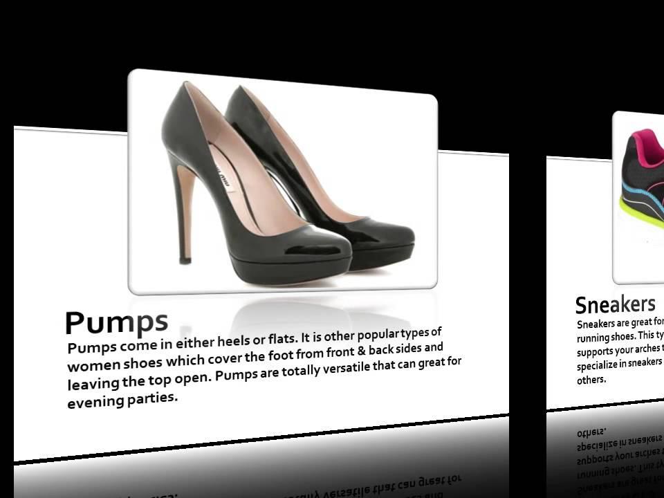 popular shoe types