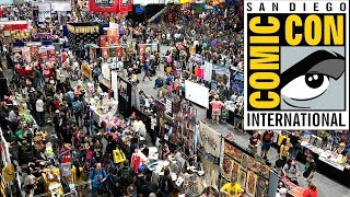 San Diego Comic Con 2018 Tour