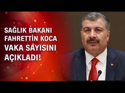 Sağlık Bakanı Fahrettin Koca son 24 saatin koronavirüs vaka sayısını açıkladı / 15.09.2020